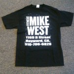 Men Black shirt logo