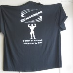 Men Black t-shirt (Logo on back of shirt)
