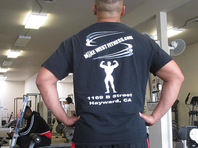 Men's Black t-shirt (Logo on back of shirt)