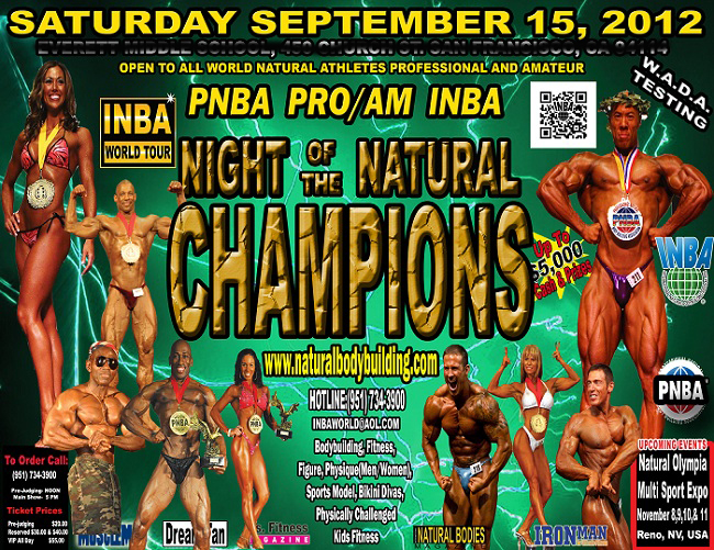 Night Of The Natural Champions